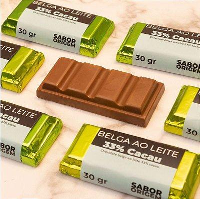 Tablete Origem Chocolate Belga Ao Leite - 30g