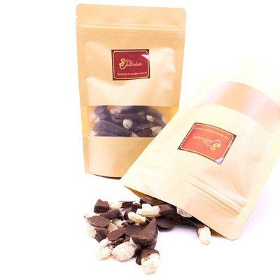 Delícia de Chocolate - Tiras de Laranja