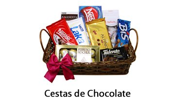 Cestas de Chocolate