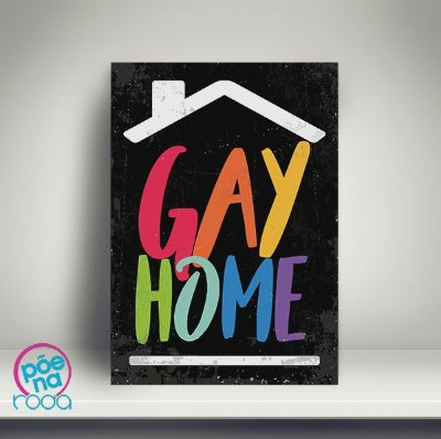 Pôster Gay Home