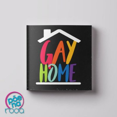 Imã decorativo Gay Home