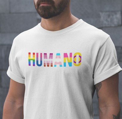 Camiseta HUMANO Pride