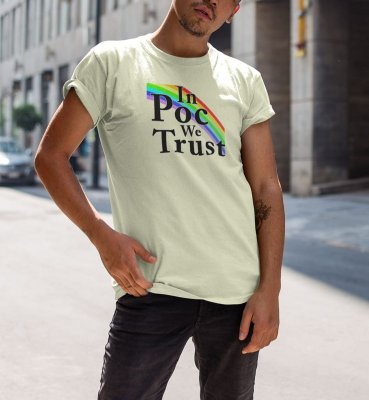 Camiseta IN POC WE TRUST