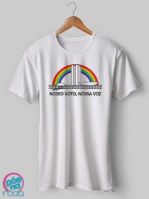 OUTLET - Camiseta Nosso Voto Nossa Voz (M)