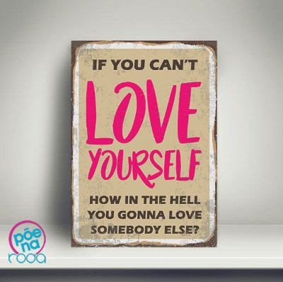 OUTLET - Pôster Love Yourself A3