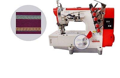 Máquina de Costura Galoneira Sun Special Direct Drive SS5500D-PR-QI - 220 V