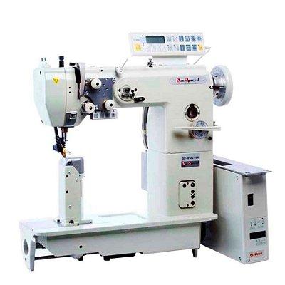 Máquina Costura Industrial Coluna Sun Special 1 Agulha Eletrônica SST-8812BL-7-GW - 220 V