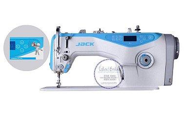 Maquina de Costura Reta Eletronica Jack A4 - 220 V Comando de Voz em Portugues