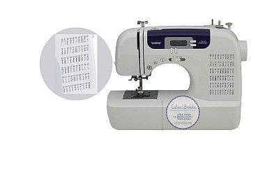 Máquina de costura Brother CS 6000  com 60 pontos Autovolt + Kit inicial