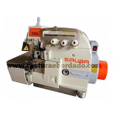 Máquina de Costura Overlock Siruba Direct Drive 737Q-504M2-04 - 220 vlts