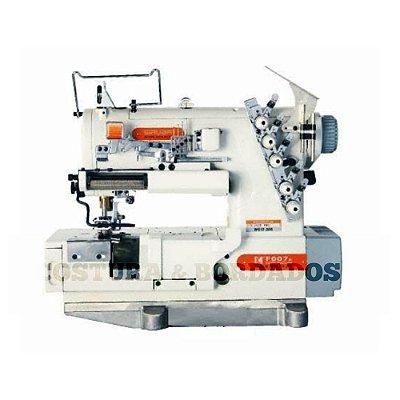 Máquina  de Costura Galoneira BT Siruba  F007K-W522-364-FR - FFC-LS-A Bivolt