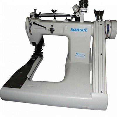 Máquina Fechadeira de Braço 3 Agulhas Sansei Para Jeans SA-007-364XL-SP - BIVOLT