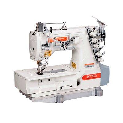 Máquina Ponto Corrente Plana 2 Agulhas SIRUBA F007K-U712-264/FSP - Bivolt