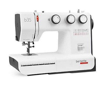 Máquina de Costura Domestica Bernette B35 Mecanica - 110 V - Ideal para Costuras Grossas