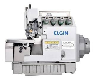 Máquina de Costura Interloque Motor Direct Drive Elgin 5 Fios - IL1067 - Bivolt