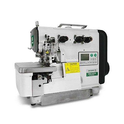 Maquina Overloque Eletrônica com Motor Direct Drive 3 fios Zoje ZJ-950E-17-ED3 - 220 V