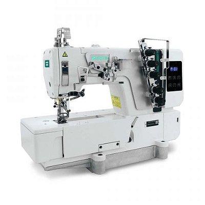 Maquina Galoneira Plana Fechada com Motor Direct Drive 6.4mm Zoje C5000-364-02 - 220 V