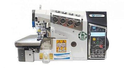 Maquina Interloque bitola 5,5 mm média Eletronica Sansei SA‐MX5‐5‐03/223‐1- 220 V