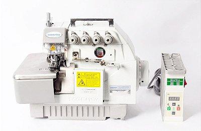 MAQUINA OVERLOQUE SGEMSY 4 FIOS PONTO CADEIA DIRECT DRIVE SS7604D  - 220 V
