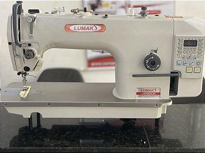 Maquina de Costura Reta Eletronica Lumak Modelo LU8900D4-SL - 220 V + Kit de Calcadores