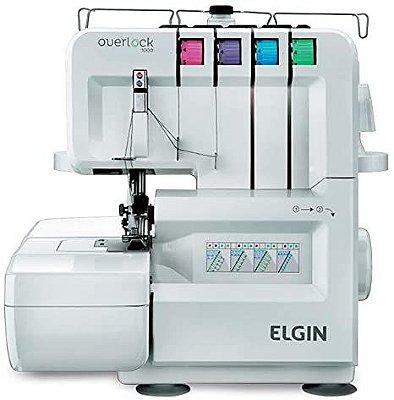 MAQUINA DE COSTURA OVERLOQUE DOMESTICA ELGIN 1000 - 220 V