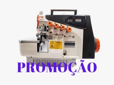 MAQUINA INTERLOQUE DIRECT DRIVE BITOLA MEDIA MEGAMAK F-8 5D - 110 V