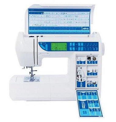 Máquina de Costura Elna 6600 com 200 pontos - 220 V
