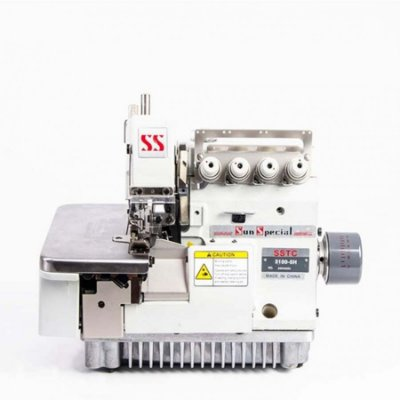Máquina Costura Industrial Sun Special Interlock 2 Agulhas e Alta Velocidade SSTC3100-5H
