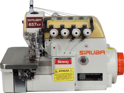 MAQUINA INTERLOCK LINHA ECO DIRECT DRIVE SIRUBA 657KP-516M2-55 /DKKU1-0 - 220 V