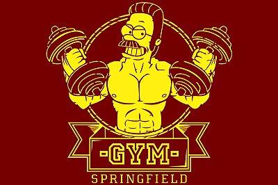 GYM - Ned Flanders - Simpsons