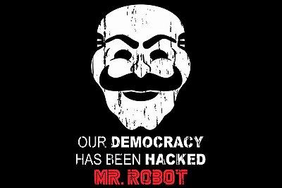 Mr Robot - Máscara - FSociety