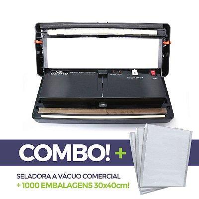 Seladora a Vácuo Comercial + 1000 embalagens 30x40