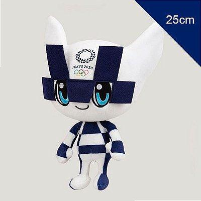 Mascote das Olimpíadas 2021 Miraitowa Pelúcia 25cm