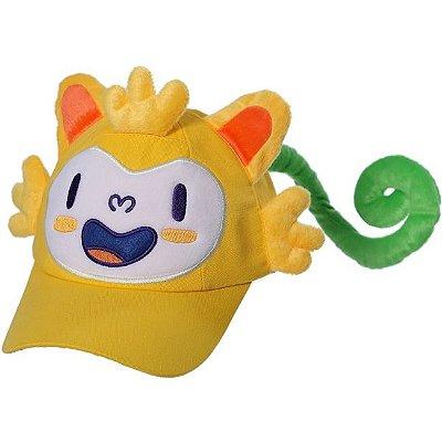 Boné Adulto Mascote Olímpico Rio (Produto Oficial)