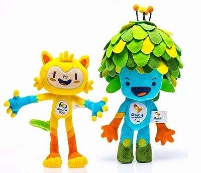 Mascotes Vinícius e Tom Olimpíadas 2016