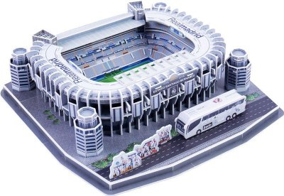 Maquete do Estádio do Real Madrid Santiago Bernabeu