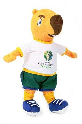 Mascote da Copa América 2019 Pelúcia Zizito