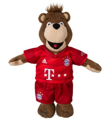 Mascote do Bayern de Munique Berni 35cm
