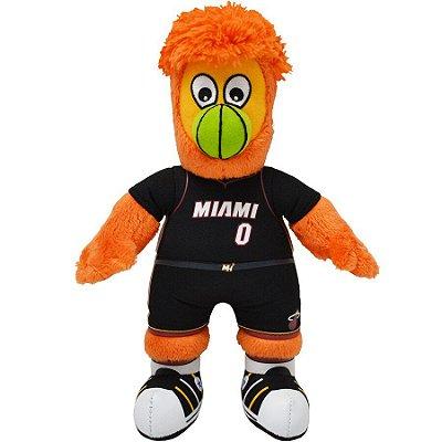 Mascote da NBA Pelúcia Burnie Miami Heat Basquete