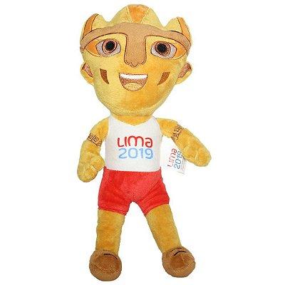 Mascote Panamericano 2019 Pelucia Milco