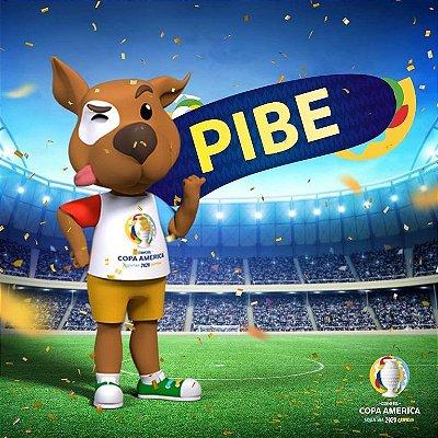 Mascote da Copa América 2020 Pibe Pelúcia