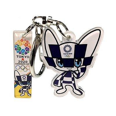Chaveiro Mascote Olimpiadas Tokio 2020 Miraitowa