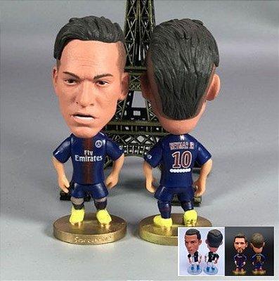 Mini Craque Neymar e Messi e Cristiano Ronaldo 03 Mini Craques