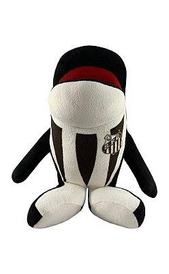 Baleia Mascote do Santos de Pelúcia 30cm