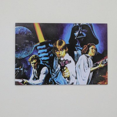 Placa Decorativa Star Wars