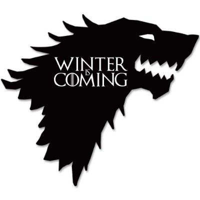 Placa Decorativa GOT: Winter is Coming
