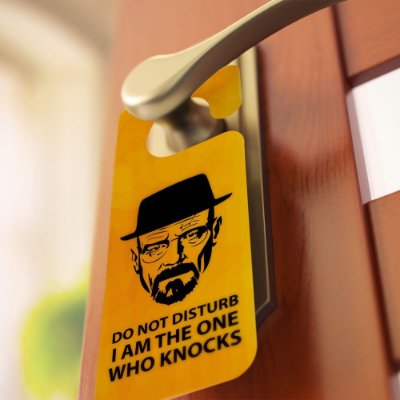 "Aviso de porta: ""Say My Name"" (Breaking Bad)"
