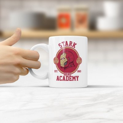 Caneca Homem de Ferro (Stark Academy)
