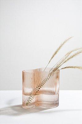 vaso de vidro meyer rosé M