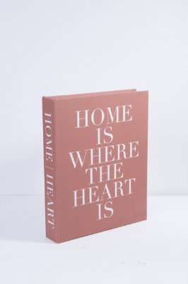 caixa livro home